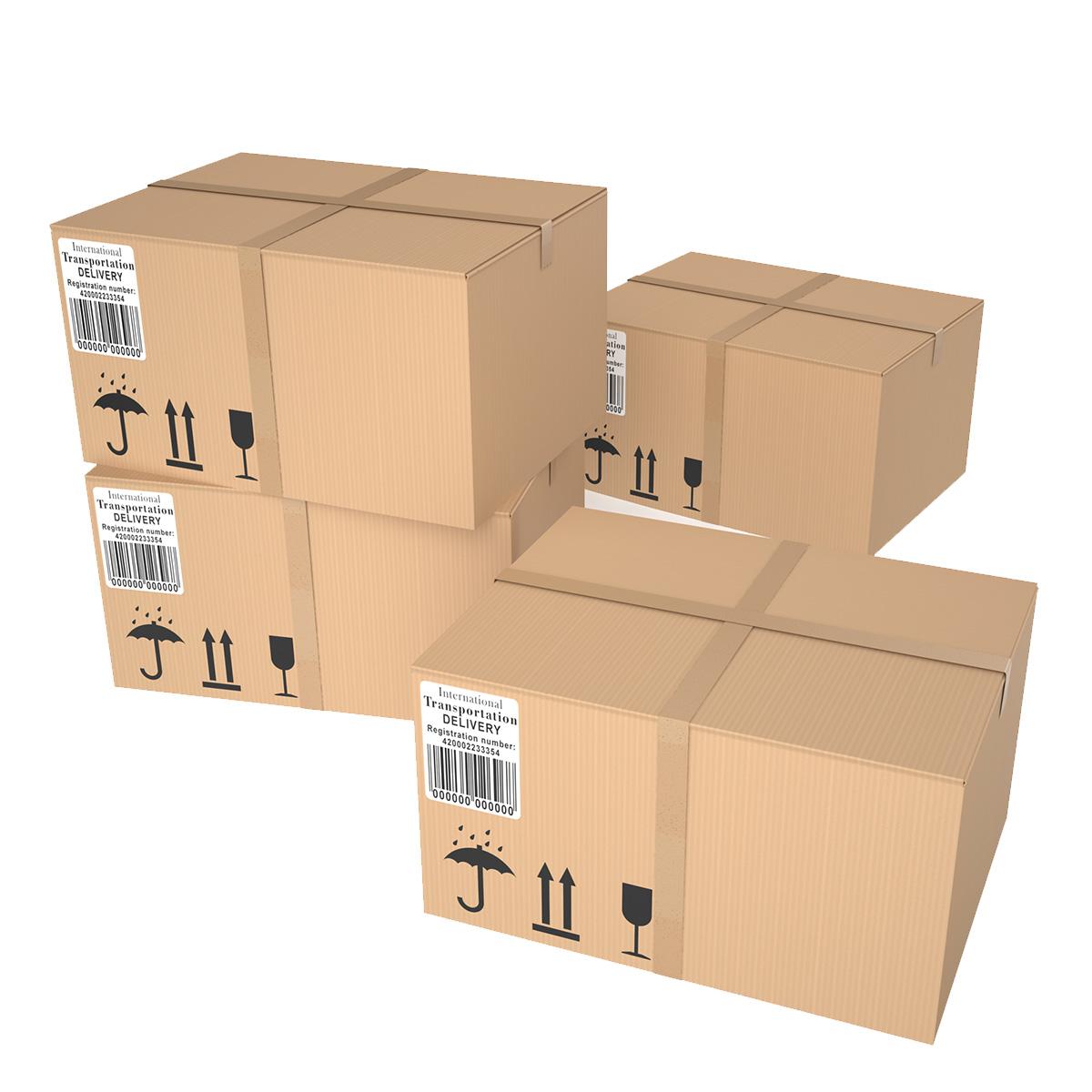 Etiquetas para logística e cadeia de suprimentos